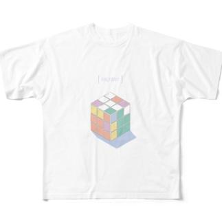 HALFWAY Full graphic T-shirts