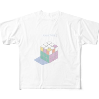 ALMOST THERE Full graphic T-shirts