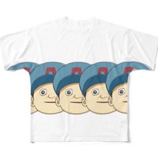 トマソン《たくさん》 Full graphic T-shirts