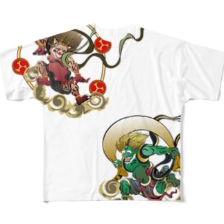 Fujin Raijin Full graphic T-shirts