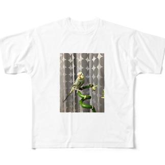 ピコちゃん(性別不明期) Full graphic T-shirts