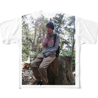 高尾山の妖精 Full graphic T-shirts