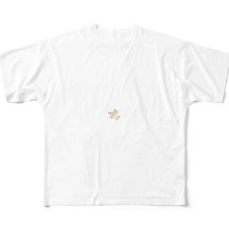 塩ダレキャベツの飛翔 Full graphic T-shirts