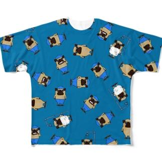 トント(Tonto) Full graphic T-shirts