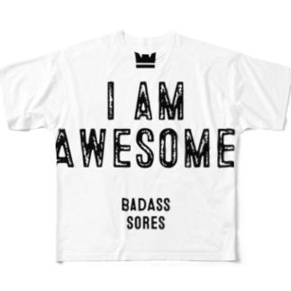 わたしすげえグッズ Full graphic T-shirts