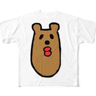 くまんくまん Full graphic T-shirts