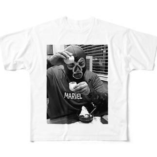 エージェント様 Full graphic T-shirts