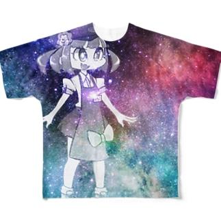宇宙はろこ Full graphic T-shirts