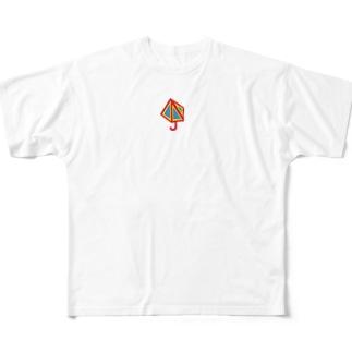 かさ Full graphic T-shirts