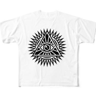 プロビデンスの目 Full graphic T-shirts