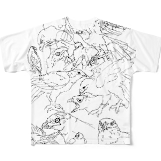 らくがきハリス Full graphic T-shirts