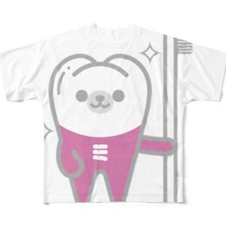 みがくま Full graphic T-shirts