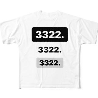3322.3322.3322 Full graphic T-shirts