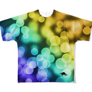 映えT-光 Full graphic T-shirts