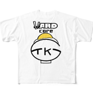 TKGハードコア Full graphic T-shirts