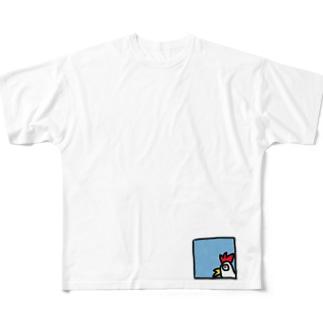 コケッ!! Full graphic T-shirts