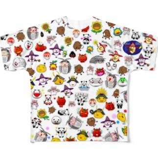 【Tシャツ】Ally's Chracter オールスター フルグラフィックTシャツ