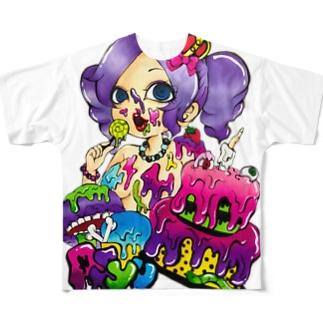 あしゅー Full graphic T-shirts