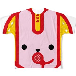 パ紋No.3315 みなみ Full graphic T-shirts