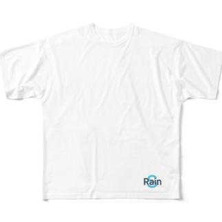 レインズ8 Full graphic T-shirts