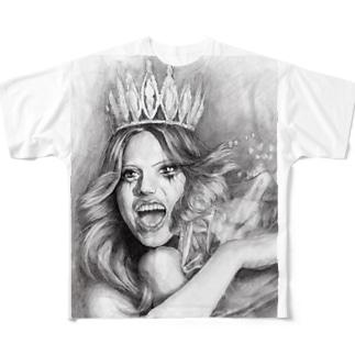 コートニー・ラブ Full graphic T-shirts