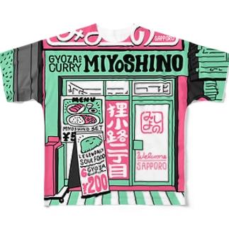 MIYOSHINO Full graphic T-shirts