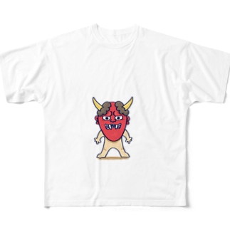 般若くん Full graphic T-shirts