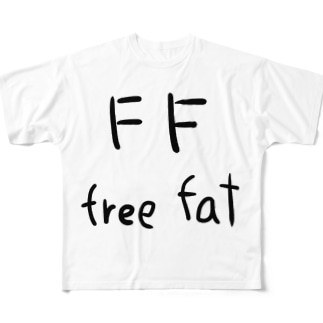 freefat Full graphic T-shirts