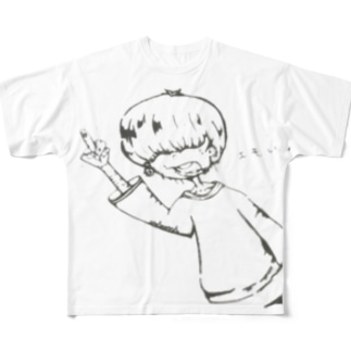 サブカル男子 Full graphic T-shirts