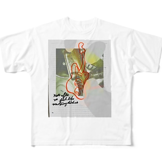皿洗いたくない Full graphic T-shirts