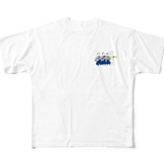 JAZZサムライ Full graphic T-shirts
