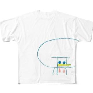 あひる Full graphic T-shirts