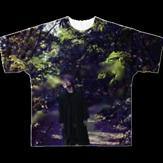 samazamaの秋晴れ Full graphic T-shirts