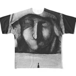 砂上の聖女 Full graphic T-shirts