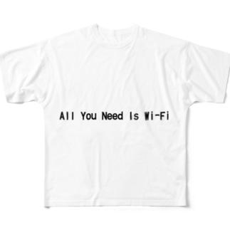 頑張れソフトバンク Full graphic T-shirts