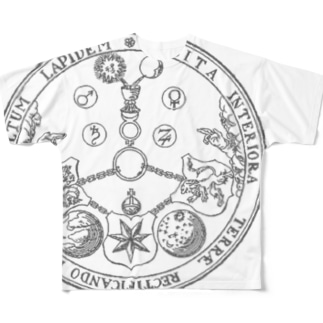 エメラルド・タブレット Full graphic T-shirts
