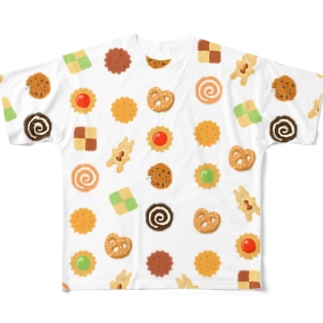 Cookie Full graphic T-shirts