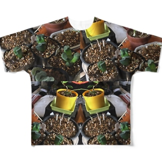 グリーンアート Full graphic T-shirts