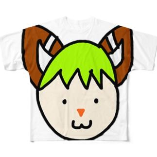 またたび Full graphic T-shirts