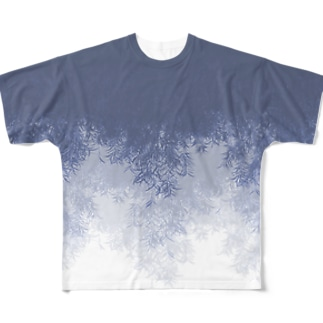 Willow (Blue gray) Full graphic T-shirts