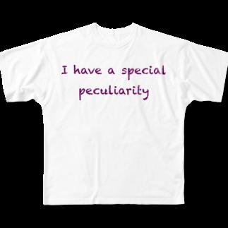 ハラクロ商店(仮)の少数派な貴方へ Full graphic T-shirts