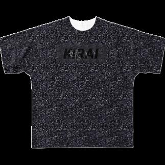 0→1の嫌いTシャツ愛憎Ver. Full graphic T-shirts
