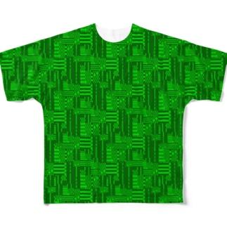 スーファミを ガッ てしたときのアレ。 Full graphic T-shirts