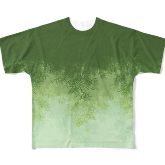 Willow (Green) Full graphic T-shirts