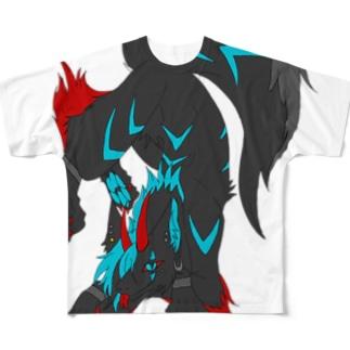 名無しくんver4 Full graphic T-shirts