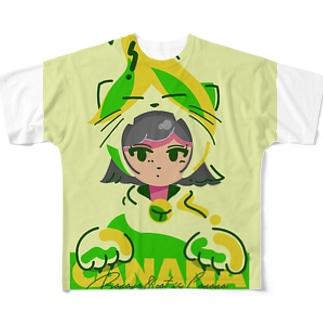 キャナナのコス パツギンバージョン☆ Full graphic T-shirts