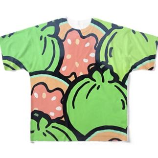 ぐぁばぁ Full graphic T-shirts