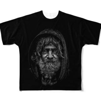 自分の歳は自分で決める Full graphic T-shirts