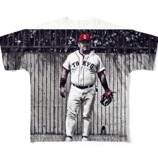 たけぴ Full graphic T-shirts