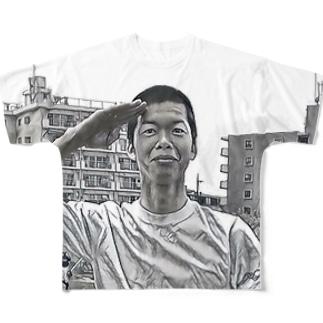 羊 Full graphic T-shirts